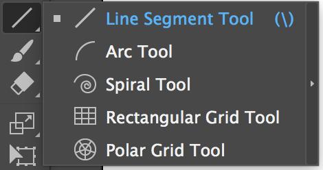 ابزار Line Segment