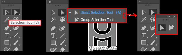 ابزار های گروهی جعبه ابزار و جداسازی آنها